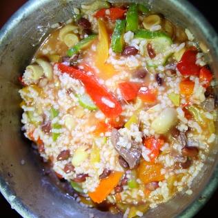 Itse kokkailtua Kazakkimuhennusta