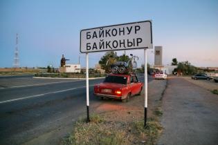Lada Baikonurin porteilla