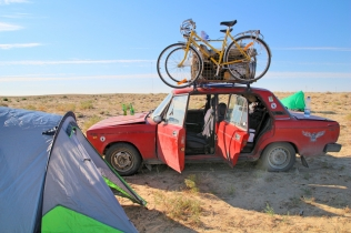 Viimeisiä leiripaikkoja pukkaa, Aralsk