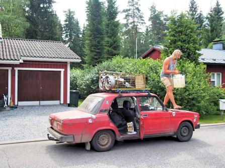 Ylimääräset kamat Lappeenrantaan