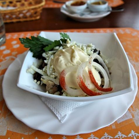 Novosibirskiläistä salaattia