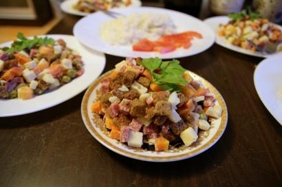 Venäläistä salaattia by Olga, nam!