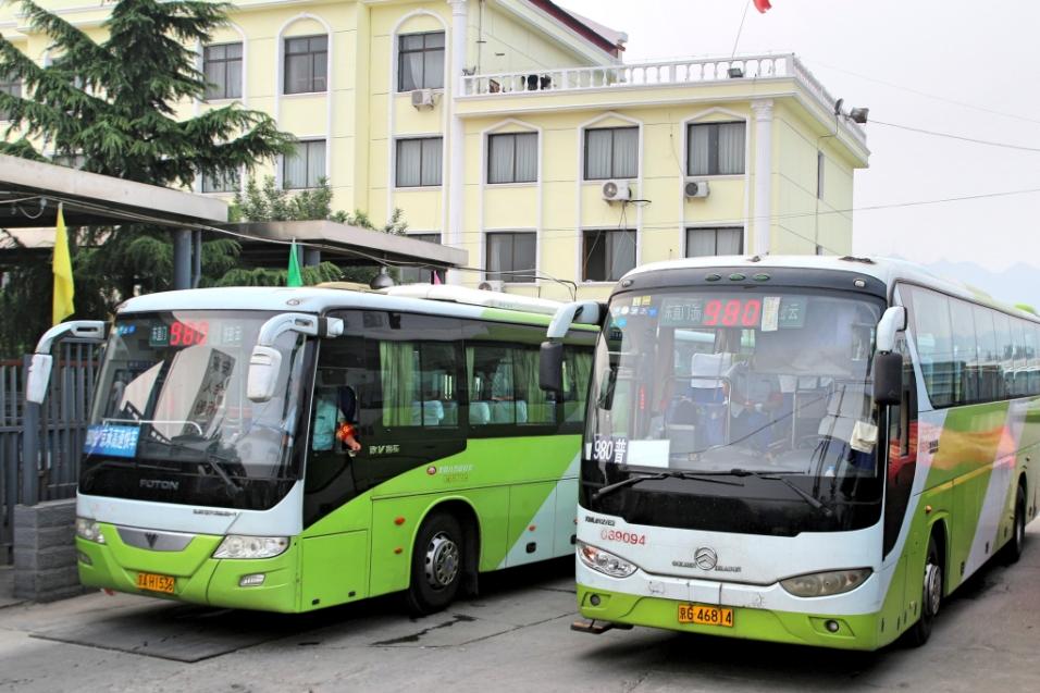 Busseja rivissä