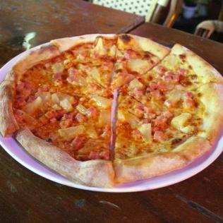 Pizzaa Guilinin tapaan Kiinassa