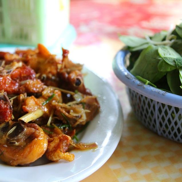 Kanaa vietnamilaisella tyylillä