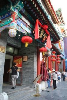 Kuuluisa Pekingin ankka -mesta. Otettiin oikeen take awayt.