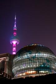Shanghaissa iltasella