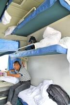 Finsskituristit ylimmissä sängyissä