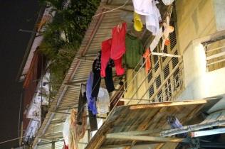 Pyykit kuivamassa