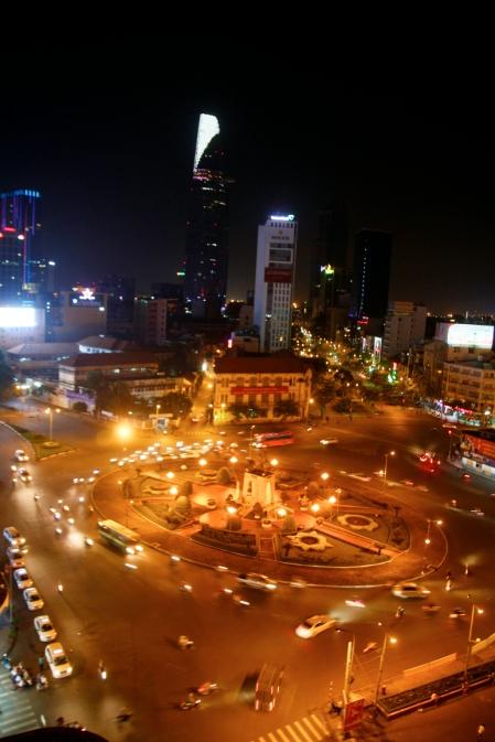 Perillä Ho Chi Minhissä
