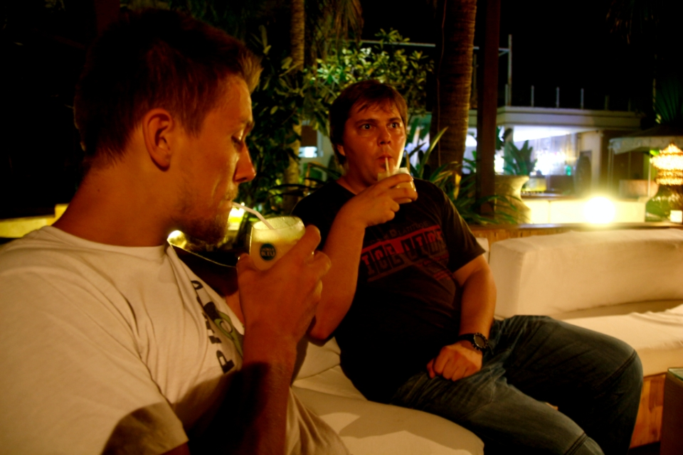 Drinksut huiviin