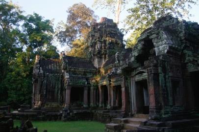 Temppeliä ulkoa