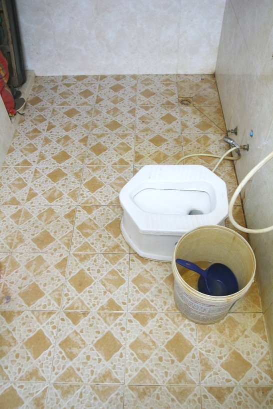 Hotellin yleisvessa, Hak's House, Siem Reap