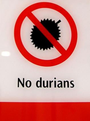 Ei duriania metrotunnelissa