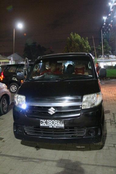 Taksilla Parapatista Medaniin