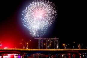 Uusi vuosi Singaporessa