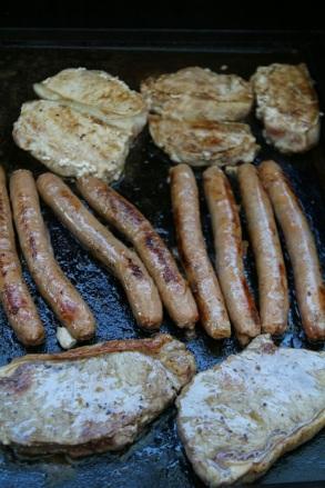 Lihaa tiskiin