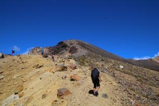 Matkalle vaellusreitin korkeimmalle huipulle