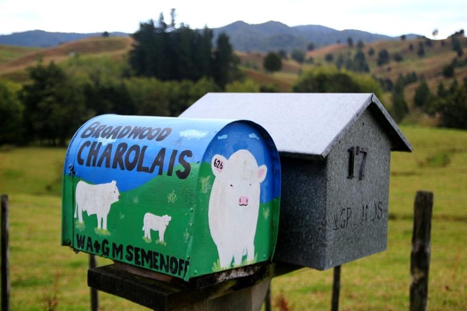 Postilaatikot kuvissa