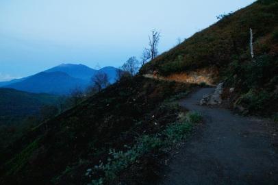 Pitkin vuoren rinnettä