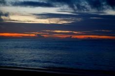 Sininen meri ja punainen aurinko