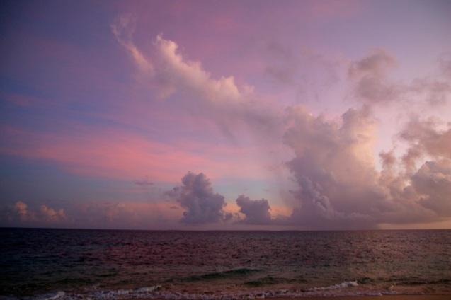 Upeita pilviä