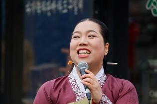 Perinteistä korealaista laulua