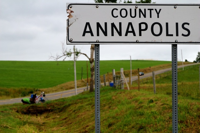 Annapolis saavutettu