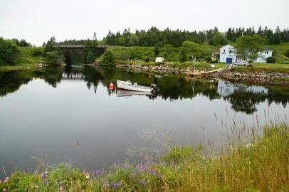 Kaunista eteläisen Nova Scotian rantaviivaa