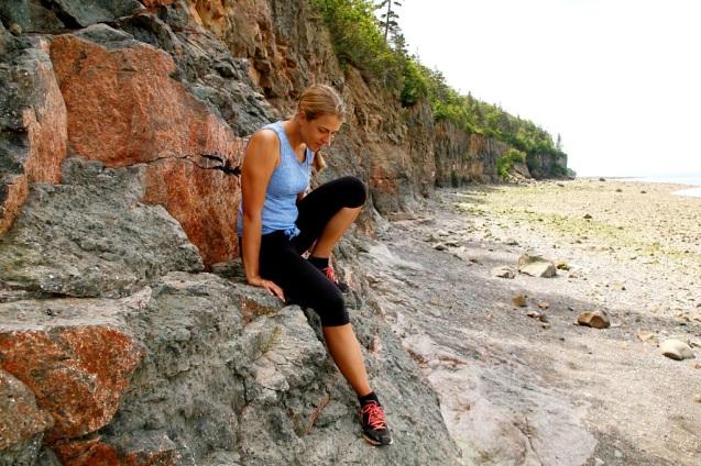 Kallioilla laskuveden aikaan
