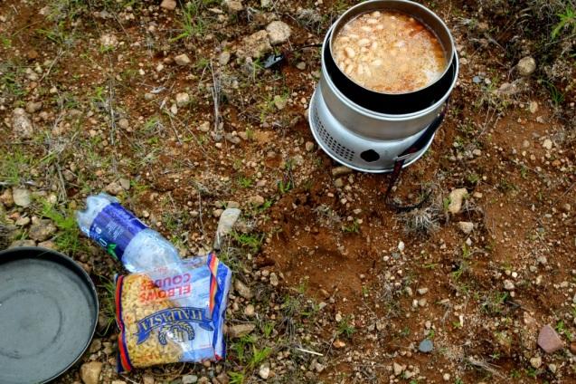Karhunjälki ja meidän ruokasetit