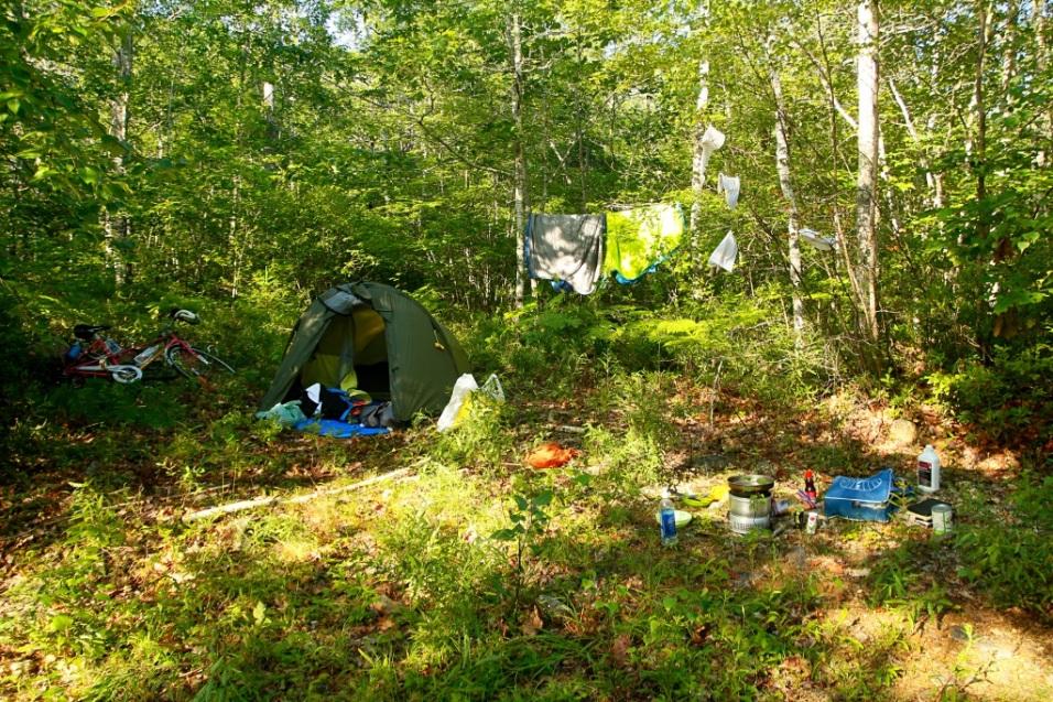 Ensimmäisen yön leiri