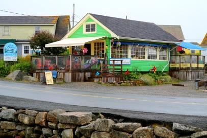 Pieni kahvila, Peggy's Cove