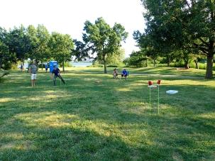 Mielenkiintoinen ja tuttu frisbee-peli