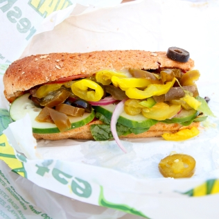 Subway, Spicy Italian, Rockport, USA