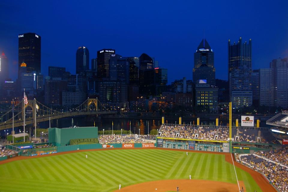 Baseball-matsissa, Pittsburgh