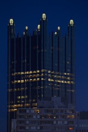 Elämää tornissa Pittsburghissa