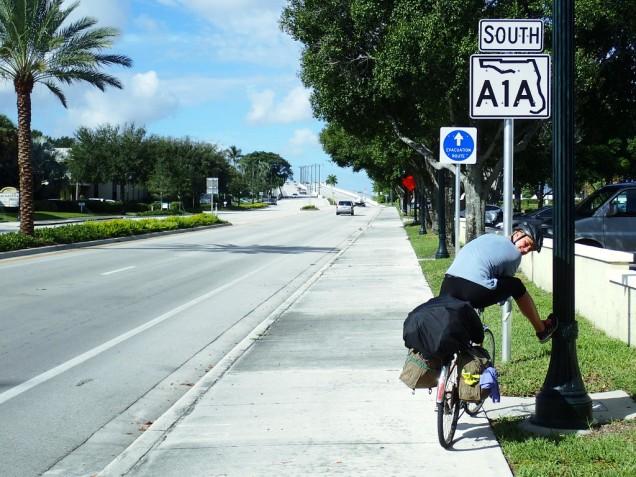 A1A pyöräilijän lempparitie