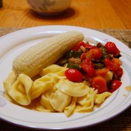 Luonnonmukaista ruokaa, Christinen ja Rayn luona