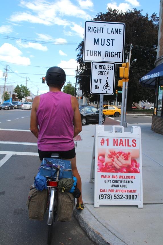 Huomio pyöräilijät