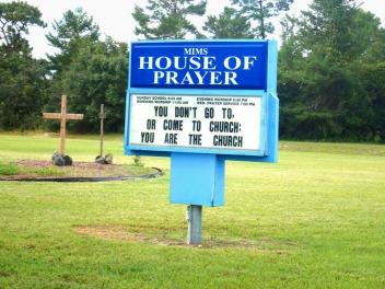 Siehä se kirkko oot