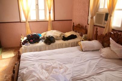 Myllätty sänky