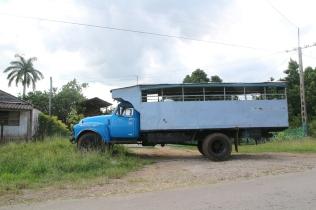 Bussi parkissa