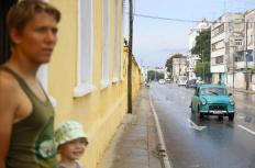 Kuubalaisessa liikenteessä