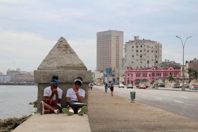 Havannan rannalla