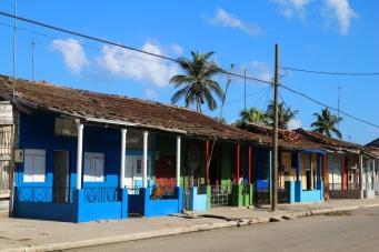 Värikkäitä taloja