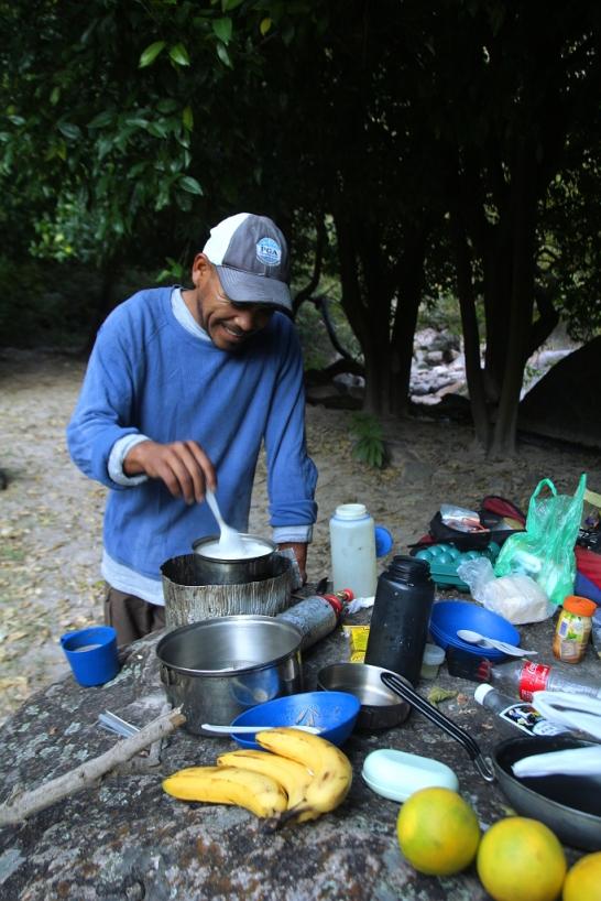 Eväiden kokkailua