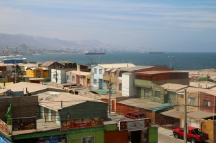 Antofagasta jouluaamuna