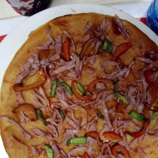 Simppeli pizza, kuubalainen pikaruokala