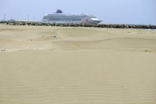 Laiva aavikolla Salaverryssä